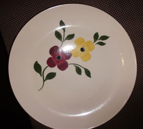 Southern Potteries Blue Ridge Dinnerware